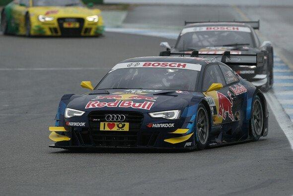 Marvin Kirchhöfer testet für Audi in Spanien