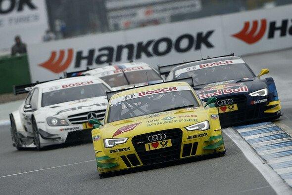 Mike Rockenfeller startet auch 2014 wieder für Audi in der DTM
