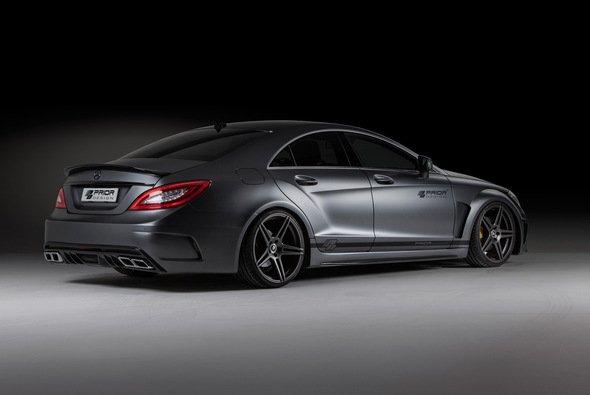 Der Mercedes CLS PD550 Black Edition ist ein brachial sportlich wirkendes Kraftpaket