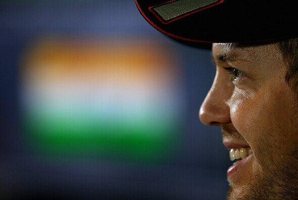Sebastian Vettel zeigt viele Gesichter