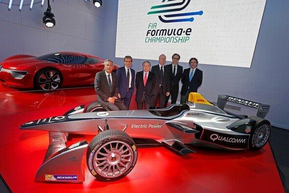 Alain Prost wird mit einem Team in der Formel E antreten