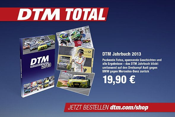 Jetzt zu haben: das DTM Jahrbuch 2013 und Hochglanz-Kalender 2014