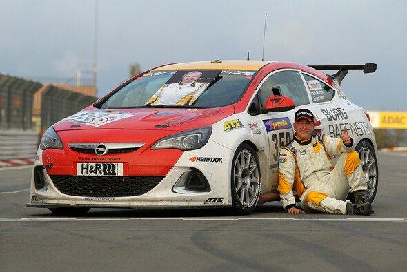 Mario Merten hat den Opel Astra OPC Cup gewonnen