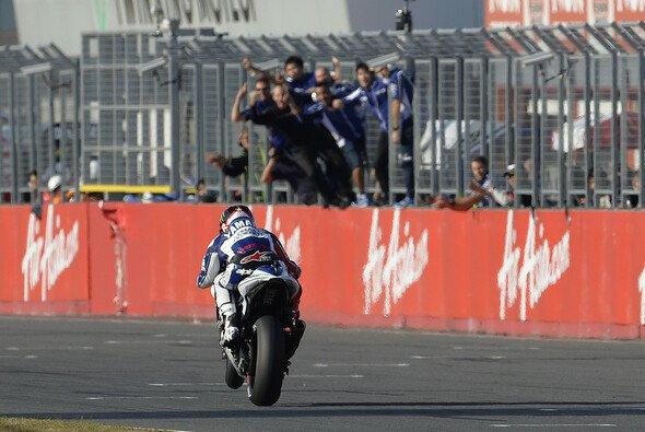 Jorge Lorenzo und Yamaha hatten gemeinsam schon viel Grund zum Jubeln