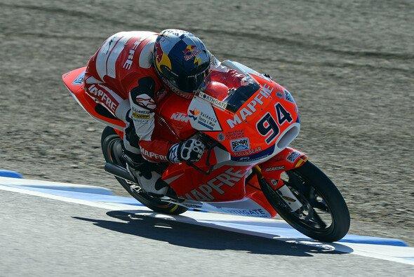 Jonas Folger will die Moto3 mit einem guten Ergebnis verlassen