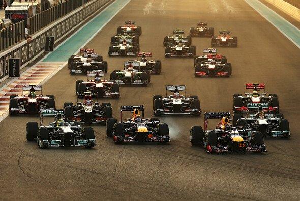 Abu Dhabi ist Schauplatz des Saisonfinales 2014