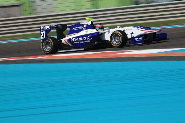Dean Stoneman war am Dienstag Schnellster in Abu Dhabi
