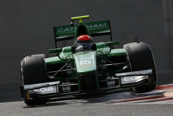 Alexander Rossi bleibt bei Caterham - Foto: GP2 Series