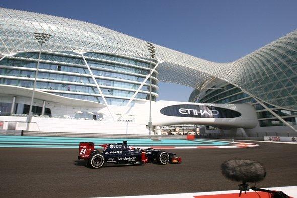 Vom 11. bis zum 13. März testet die GP2 in Abu Dhabi