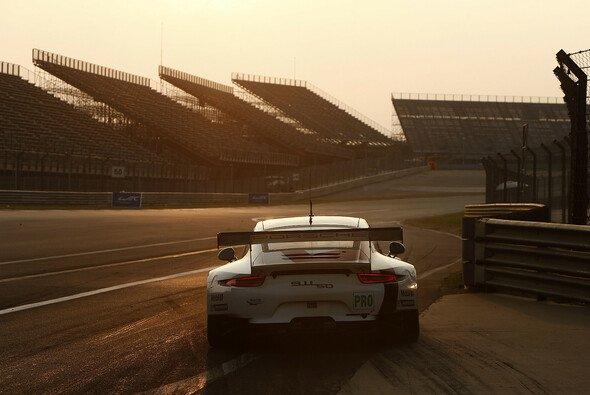 Einer der beiden 911 RSR im Rahmen des China-Wochenendes der WEC 2013