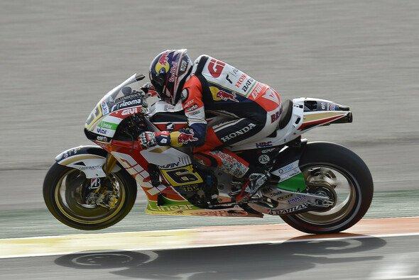 Stefan Bradl holte seinen ersten Podiumsplatz in der MotoGP