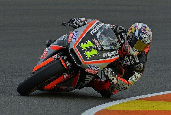 Sandro Cortese fuhr 57 Runden