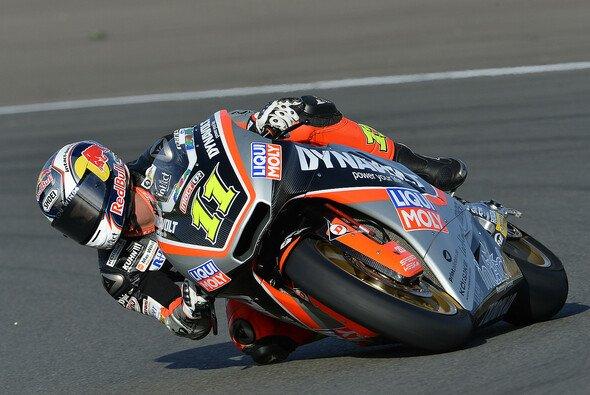 Sandro Cortese musste in der Moto2 Lehrgeld bezahlen