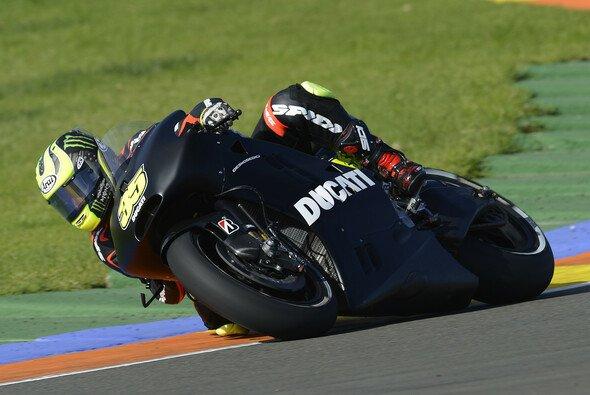 Bei den Tests in Valencia waren beide Varianten der Ducati im Einsatz