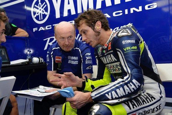 Die Chemie zwischen Valentino Rossi und Silvano Galbusera scheint zu stimmen