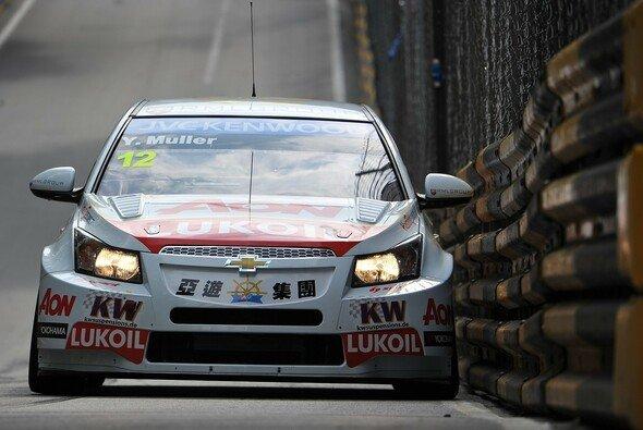 Yvan Muller steht in Macau auf der Pole-Position