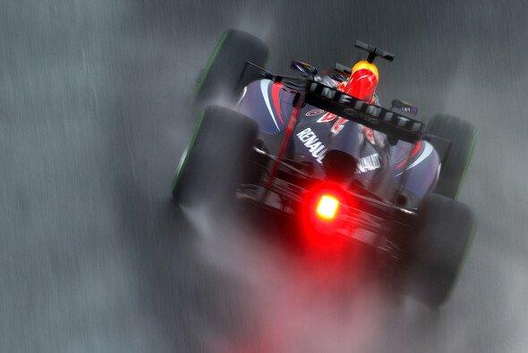 Vettels Heckleuchte - für die Konkurrenz ein rotes Tuch