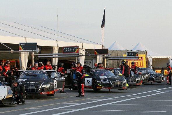 Auch 2014 wird es in der WRT-Box wieder voll: Bis zu vier Audi bringen die Belgier an die Strecken Europas