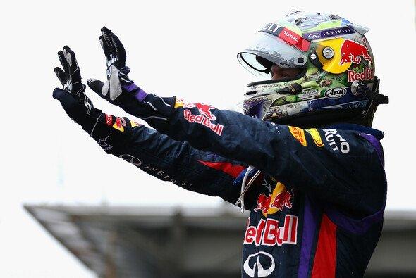 Sebastian Vettel darf sich über Rang zwei bei der Wahl zum Sportler des Jahres freuen