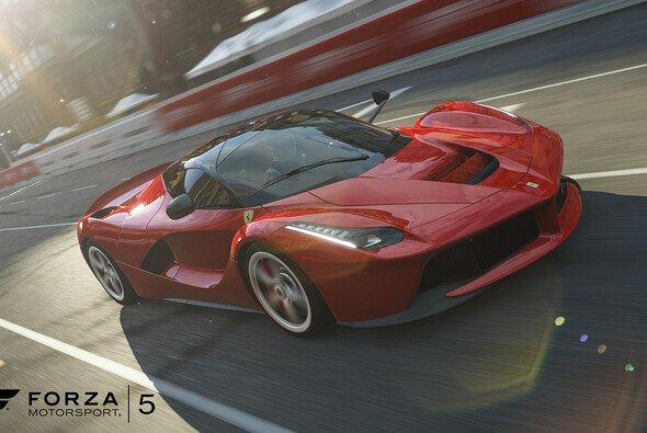 Der Ferrari LaFerrari ist das Highlight des ersten Car Packs - Foto: Microsoft