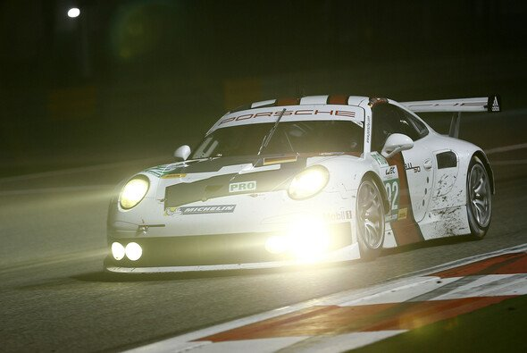 Debüt geglückt: Der neue Porsche 911 RSR fuhr auf Anhieb aufs Podium