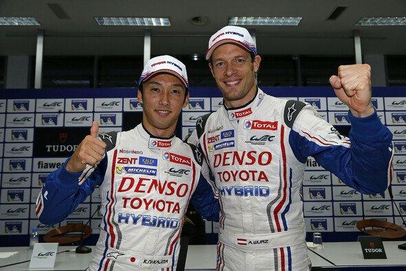 Alexander Wurz und Kazuki Nakajima bilden zusammen mit Stéphane Sarrazin ein Team - Foto: DPPI