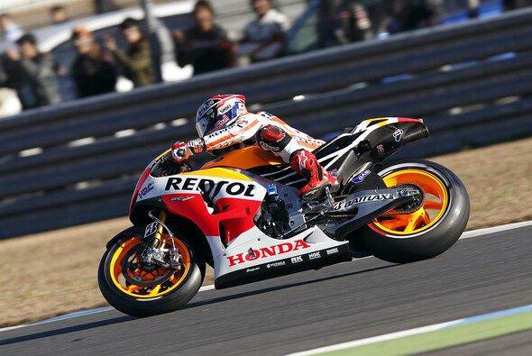Marc Marquez nahm nicht nur die Rennstrecke, sondern auch das Oval unter die Räder - Foto: Honda