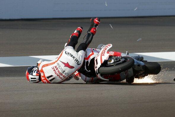 Dieser Sturz in Indianapolis 2013 besiegelte wohl das Karriereende von Ben Spies - Foto: Milagro