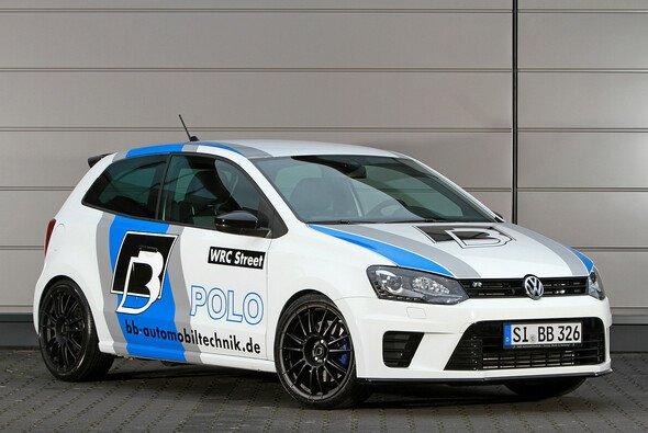Auch von außen sportlich: Der Polo R WRC Street
