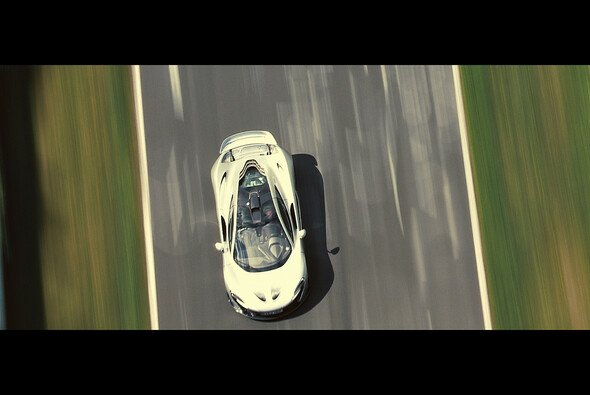Sieht nur nur schnell aus, ist es auch: Der McLaren P1