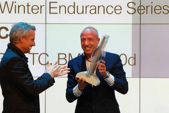 Tom Coronel nahm die Auszeichnung entgegen