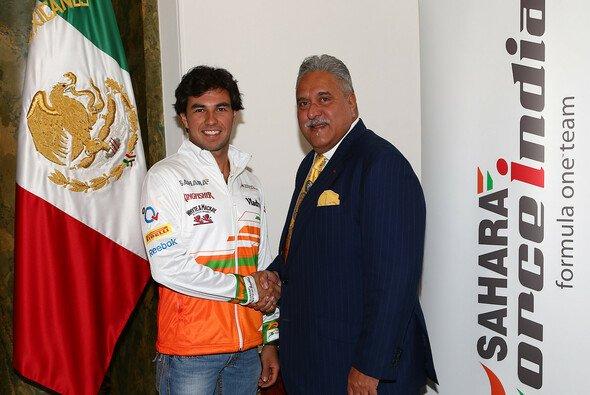 Sergio Perez wechselt von McLaren zu Force India