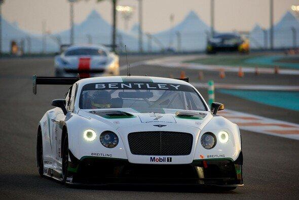 Der Bentley Continental GT3 bei den 12 Stunden von Dubai 2013