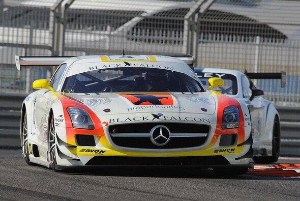 Der zweite Black-Falcon-Mercedes während der 12 Stunden von Abu Dhabi im vergangenen Dezember