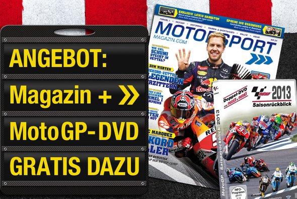MotoGP-Saisonrückblick 2013 geschenkt - Foto: adrivo Sportpresse GmbH