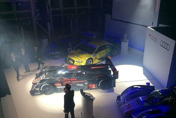 Der neue Audi R18 e-tron quattro verfügt über revolutionäre Scheinwerfer
