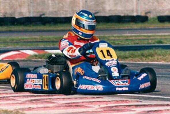 Wie schon auf seinem Kart wird Alonso künftig mit der Nr. 14 an den Start gehen