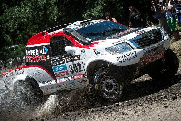 Giniel de Villiers und Dirk von Zitzewitz wurden mit den typischen Launen der Dakar konfrontiert