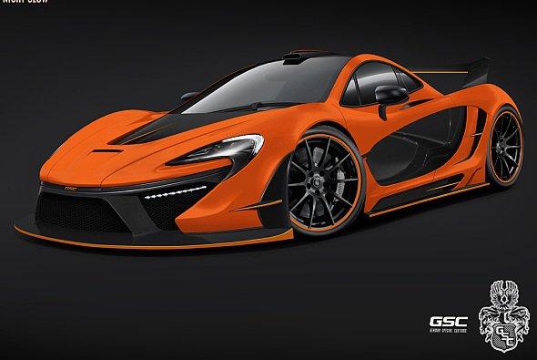 Der P1, McLarens neuer Top-Sportwagen