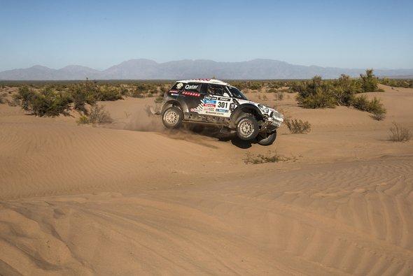 Nasser Al-Attiyah gewinnt die erste chilenische Etappe