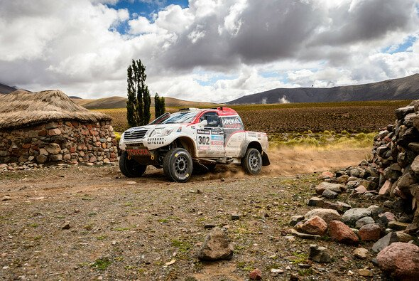 Giniel de Villiers ließ Zeit in der chilenischen Wüste liegen