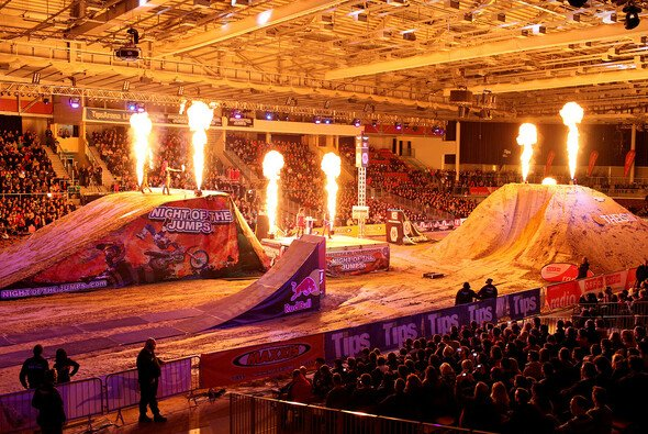 Die Night of the Jumps startet in das Jahr 2014
