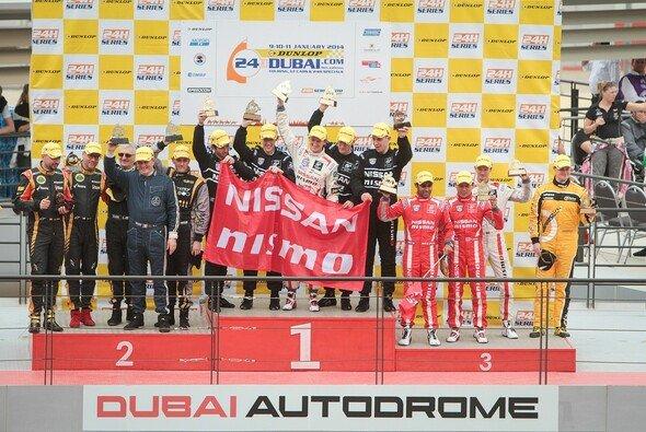 Großer Erfolg für das Nissan-Team in Dubai