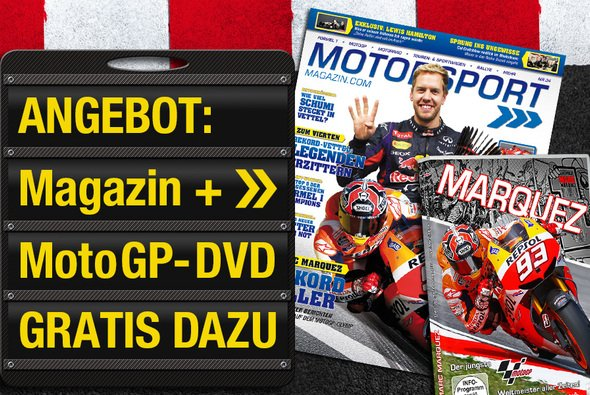 Abo-Angebot: Motorsport-Magazin + Gratis-DVD