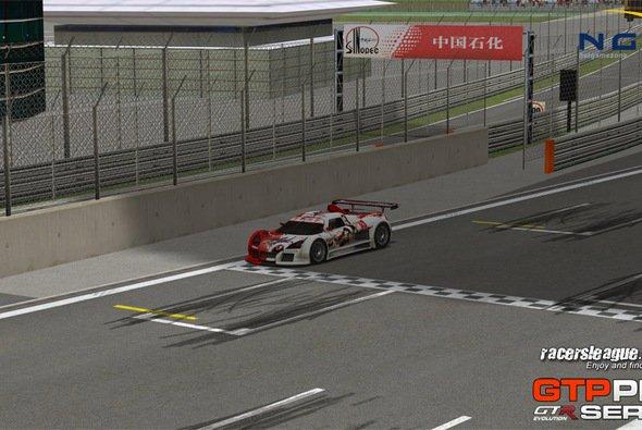 Alexander Falkenhain gewann zum ersten Mal in der GTP Pro Series