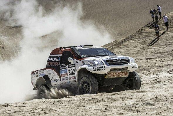 Am vorletzten Tag der Dakar gab es keine Probleme