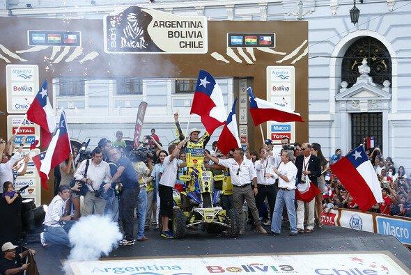 Die Fans waren beim Sieg ihres Landsmanns Ignacio Casale völlig aus dem Häuschen