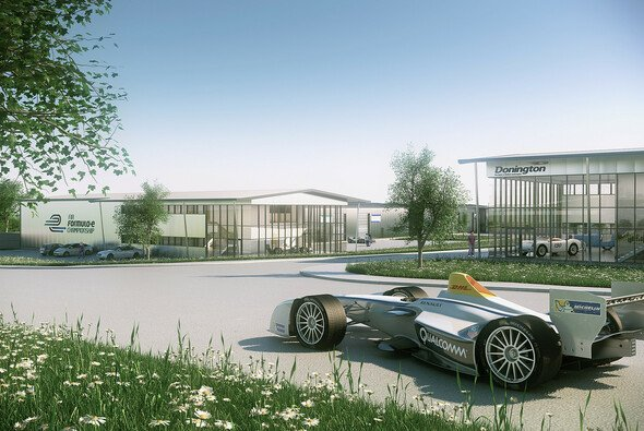Die Formel E findet in Donington Park ein Zuhause - Foto: Formel E