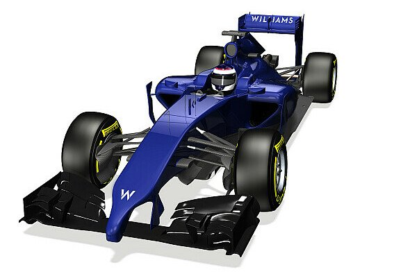So sieht er aus: Der Williams Mercedes FW36