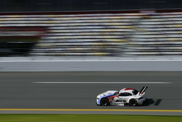 John Edwards im BMW Z4 GTLM auf dem Daytona International Speedway
